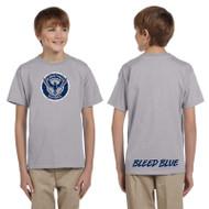 KSS Gildan Youth Ultra Cotton Short Sleeve T-Shirt - Sport Grey (KSS-048-SG)