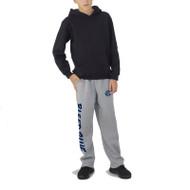 KSS Russell Youth Dri-Power Open-Bottom Pocket Sweatpants - Oxford Grey (KSS-049-OG)