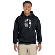 WJH Gildan Adult Heavy Blend 50/50 Hoody - Black (WJH-011-BK)