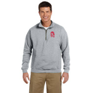 WJH Gildan Heavy Blend Vintage ¼ Zip Adult Sweatshirt - Sport Grey (WJH-013-SG)
