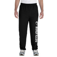 WJH Gildan Adult Heavy Blend 50/50 Sweatpants - Black (WJH-014-BK)