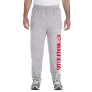 WJH Gildan Adult Heavy Blend 50/50 Sweatpants - Sport Grey (WJH-014-SG)
