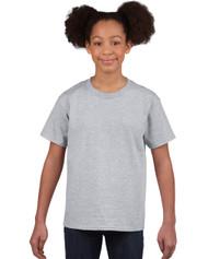 Peel DSB Sport Gildan 2000-Ultra Cotton Youth T-Shirt - Grey