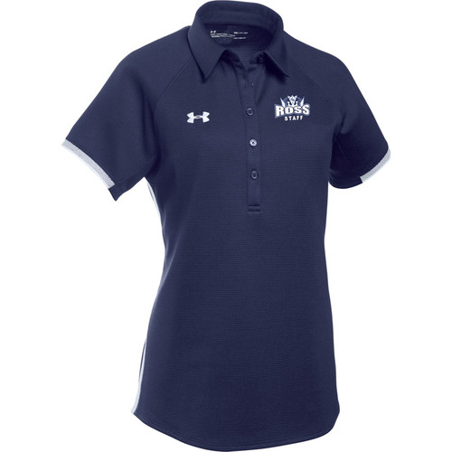 JFR Under Armour Women's Rival Polo - Navy (JFR-149-NY)