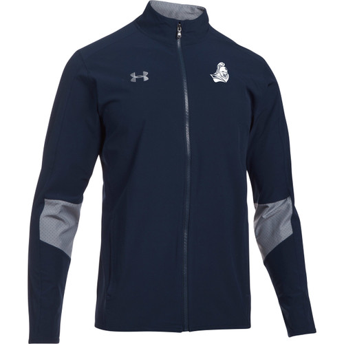 BCI Men's Under Armour Squad Woven Warm-Up Jacket - Navy (BCI-110-NY)