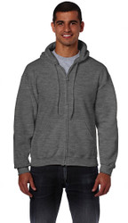 Peel DSB Gildan 18600 Ultra Blend Adult Full Zip Hooded Sweatshirt (S-3XL) - Various Colour