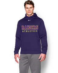 EDH Under Armour Mens Storm Fleece Team Hoodie - Purple