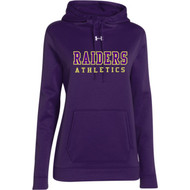 EDH Under Armour Ladies Storm Fleece Team Hoodie - Purple