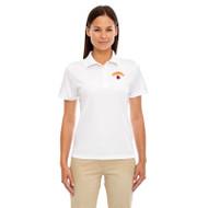 LKC Core 365 Women's Origin Performance Piqué Polo - White (LKC-202-WH)