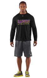 EDH Under Armour Mens Long Sleeves Locker Tee - Black