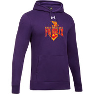 MSP Under Armour Men's Hustle Fleece Hoody - Purple (MSP-001-PU)