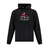 HCP ATC Men's Everyday Fleece Hooded Sweatshirt - Black (HCP-101-BK)