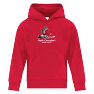 HCP ATC Youth Everyday Fleece Hooded Sweatshirt - Red ( HCP-301-RE)