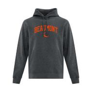 BEA ATC Men's Everyday Fleece Hooded Sweatshirt - Dark Heather Grey