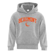 BEA ATC Youth Everyday Fleece Hooded Sweatshirt - Athletic Grey (BEA-303-AG)