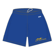 "SMK Phys-Ed Athletic Knit Women's Dryflex Shorts 5"" Inseam - Royal"