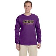 EDH Gildan G240 Ultra Cotton Long Sleeve T-shirt - Purple (EDH-012-PU)
