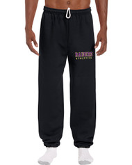 EDH Gildan 18200 No Pocket Sweat Pants - Black