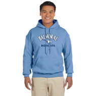 BPS Men's 13 Oz. Gildan 50/50 Hoodie - Carolina Blue (BPS-106-CB)