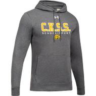CKS Under Armour Men's Hustle Fleece Hoodie - Carbon (CKS-101-CB)