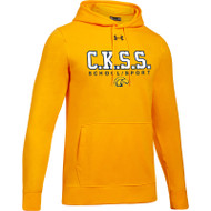 CKS Under Armour Men's Hustle Fleece Hoodie - Gold (CKS-101-GO)