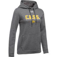 CKS Under Armour Women's Hustle Fleece Hoodie - Carbon (CKS-201-CB)