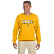 CKS Gildan Adult Heavy Blend 50/50 Fleece Crew - Gold (CKS-002-GO)