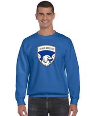 FBS Gildan 12000 Crew Neck Sweatshirt - Royal