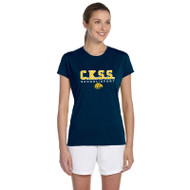 CKS Gildan Women's Performance T-Shirt - Navy (CKS-202-NY)
