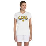 CKS Gildan Women's Performance T-Shirt - White (CKS-202-WH)