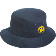 CKS KNP Brushed Cotton Bucket Hat - Navy (CKS-053-NY-OS)