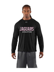 JP2 London Under Armour Mens Long Sleeves Locker Tee - Black