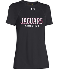 JP2 London Under Armour Women's Short Sleeve Locker Tee - Black