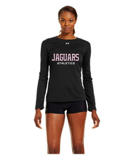 JP2 London Under Armour Ladies Long Sleeve Locker Tee - Black