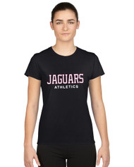 JP2 London GILDAN Women's Performance Short Sleeve T-Shirt - Black