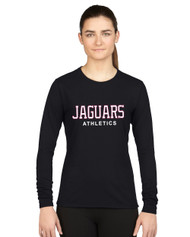 JP2 London GILDAN Women's Performance Long Sleeve T-Shirt - Black