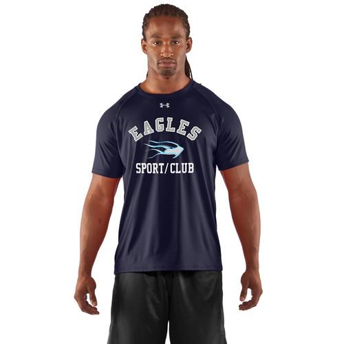 SMC Under Armour Men's Game Short Sleeves Locker T-Shirt - Navy (SMC-003-NY)
