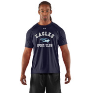 SMC Under Armour Men's Game Short Sleeves Locker T-Shirt - Navy (SMC-003-NY)