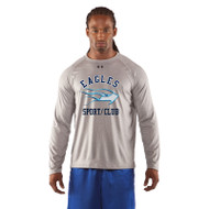 SMC Under Armour Men's Locker Long Sleeves T-Shirt - Grey (SMC-004-GY)