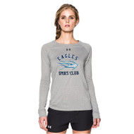 SMC Under Armour Longsleeve Women's Locker T - Grey (SMC-020-GY)