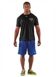 SRC Under Armour Men's Game Short Sleeves Locker T-Shirt - Black