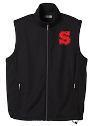 SCA Men's Copland Knit Full Zip Vest - Black