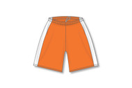 OECM Athletic Knit DRY-FLEX Soccer Shorts with Side Insert - Orange