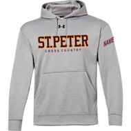 SPC UA Men's Storm Team Hoodie - True Grey
