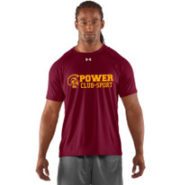 MPS Under Armour Men's Short Sleeve Locker Tee - Maroon