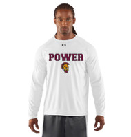 MPS Under Armour Men's Long Sleeve Locker Tee - White