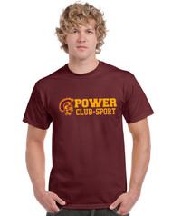 MPS Men's Gildan Ultra Cotton Short Sleeve T-Shirt - Maroon