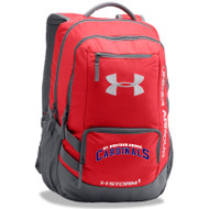SBA Under Armour Storm Hustle II Backpack - Red