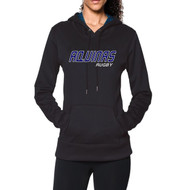 STA Under Armour Women's Storm Armour Fleece Hoodie - Navy