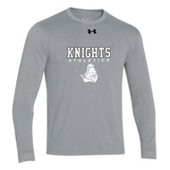BCI Under Armour Men's Long Sleeve Locker Tee - Grey (BCI-007-GY)